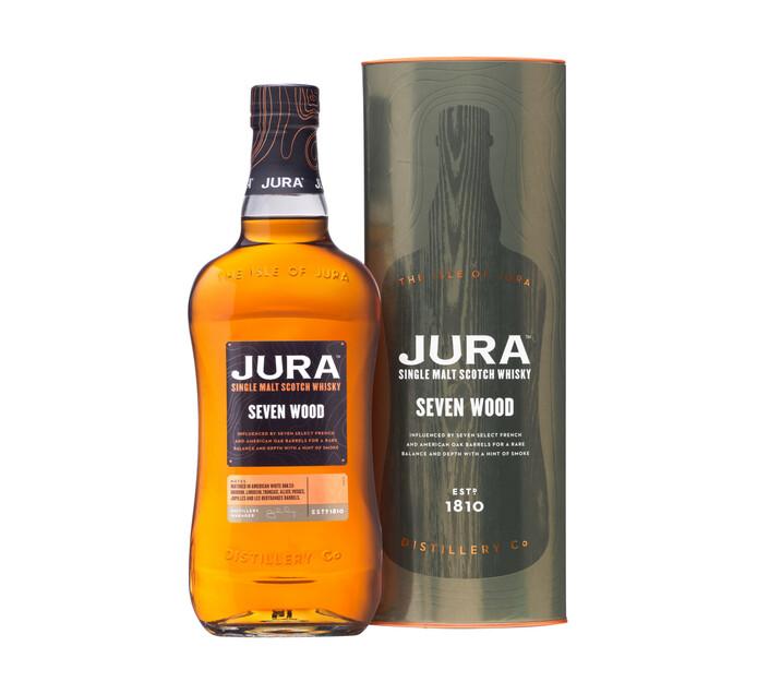 Jura Seven Wood Single Malt Whisky (1 x 750 ml)