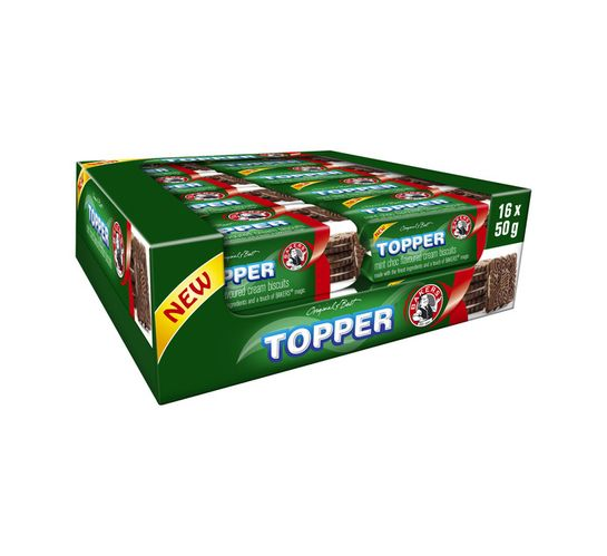 Bakers Topper Biscuits Mint Choc (64 x 50g)