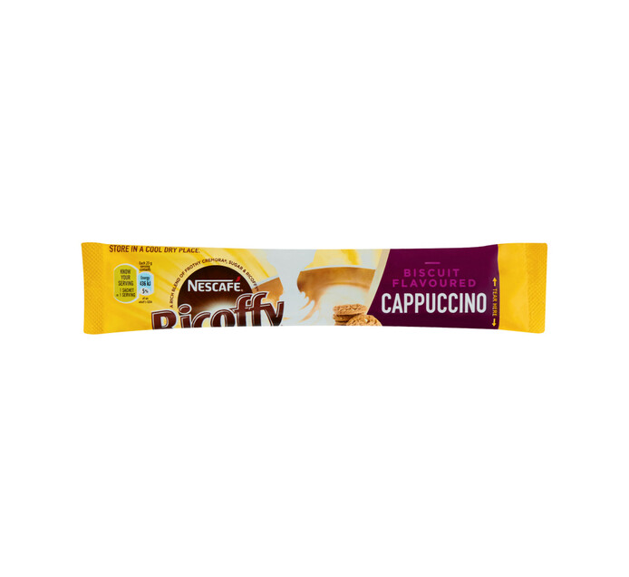Nescafe Ricoffy Cappuccino Biscuit (8 x 23g)