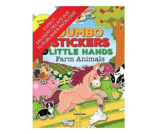 Jumbo Stickers for Little Hands: Farm Animals