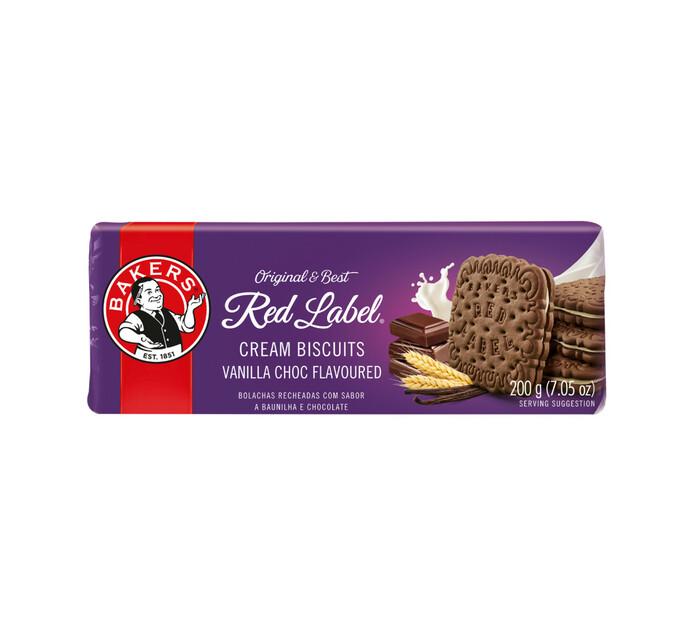 Bakers Red Label Biscuits Vanilla Creams (1 x 200g)