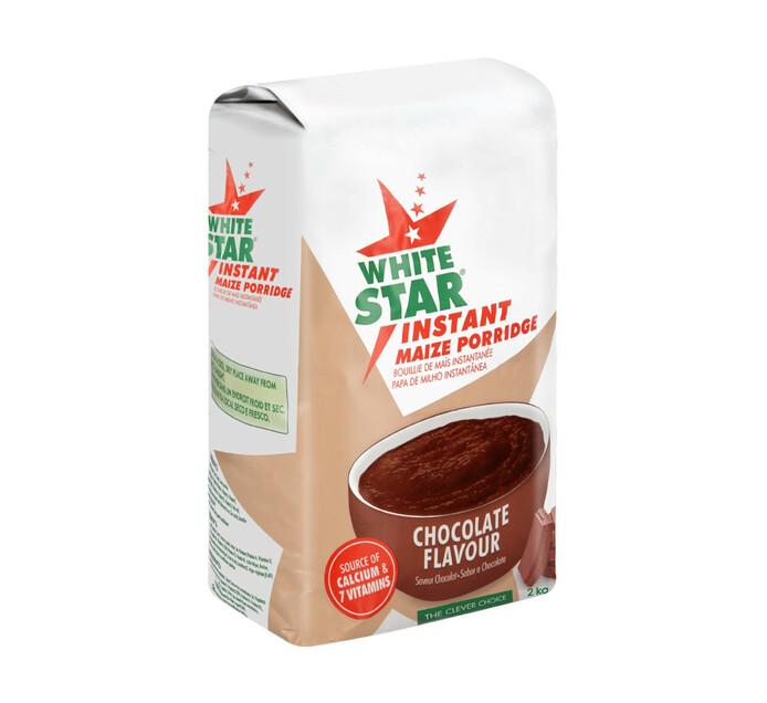 White Star Instant Maize Porridge Chocolate (1 x  2kg)