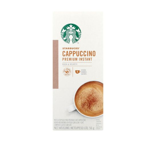 Starbucks Coffee Mixes Cappuccinno (1 x 56g)