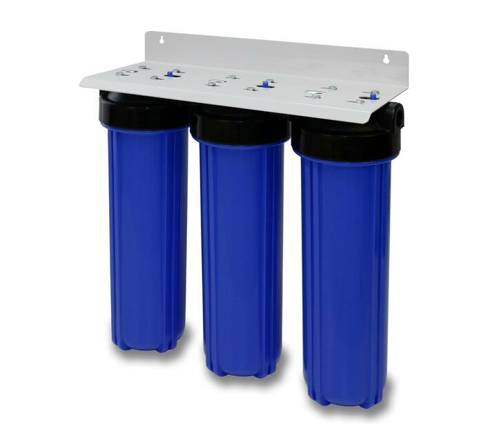 3 Stage 20 Inch Big Blue filter system (Steel Frame)