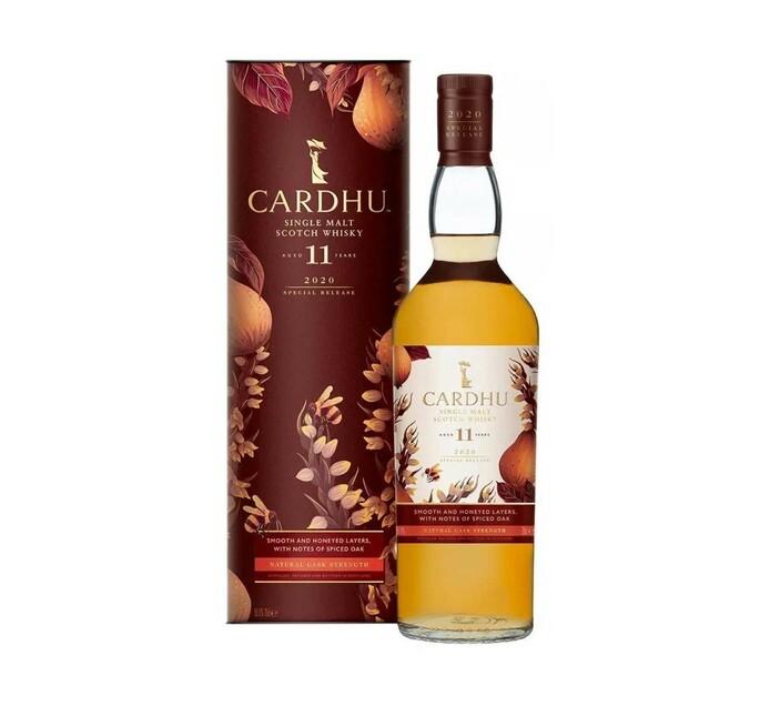 Cardhu 11 YO Whisky (1 x 750 ml)