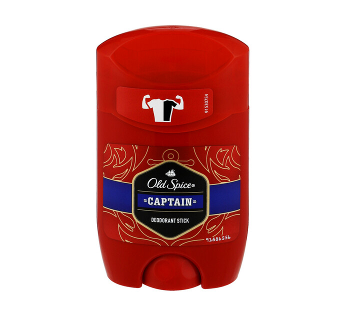 OLD SPICE DEO STICK 50ML, CAPTAIN