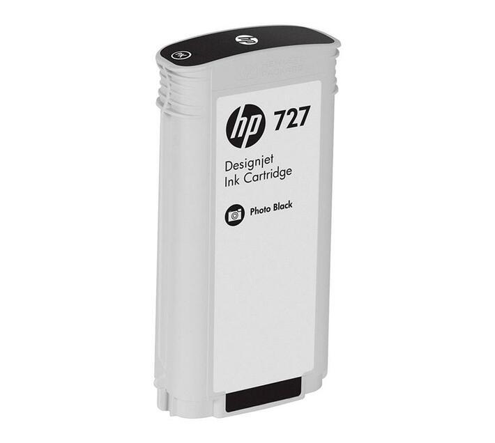 HP 727 - dye-based photo black - original - ink cartridge