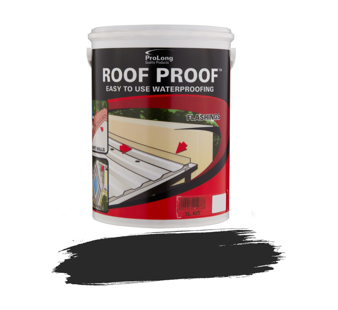 Pro-master 5L Waterproofing Sealant Black