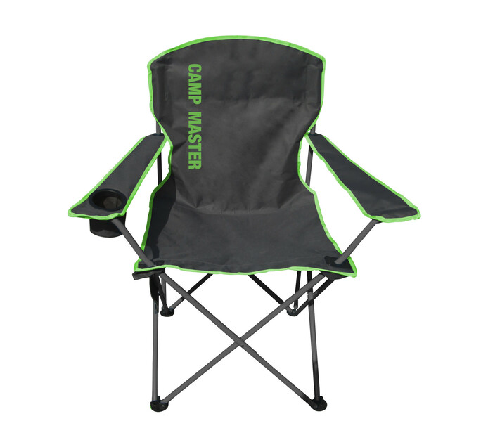 C/MASTER CLASSIC 200 CHAIR CHARCOAL/GRN