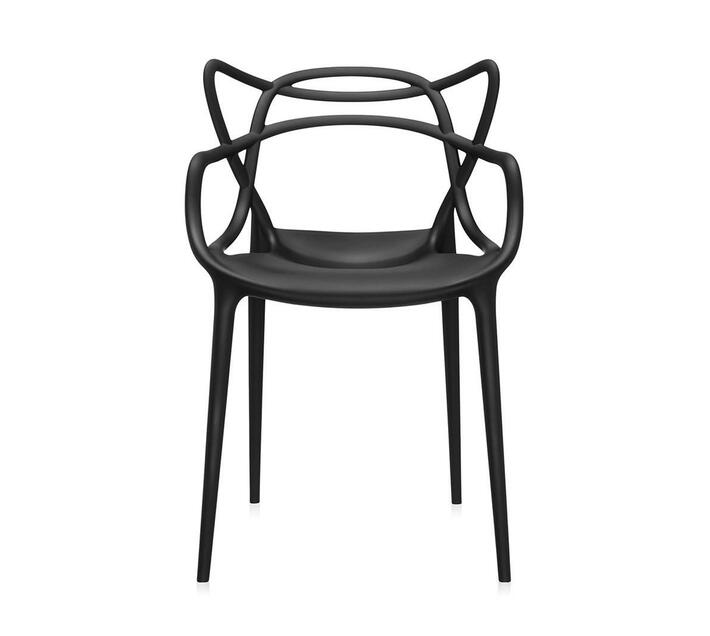 Plastic Replica Master Chair Black