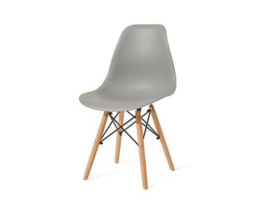 Zedo Plastic Chair - Grey