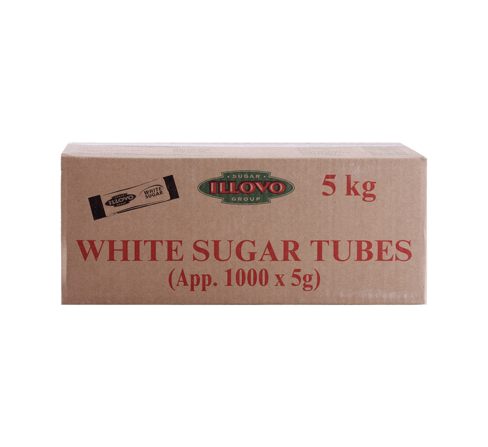 Illovo White Sugar Tubes (1 x 5kg)