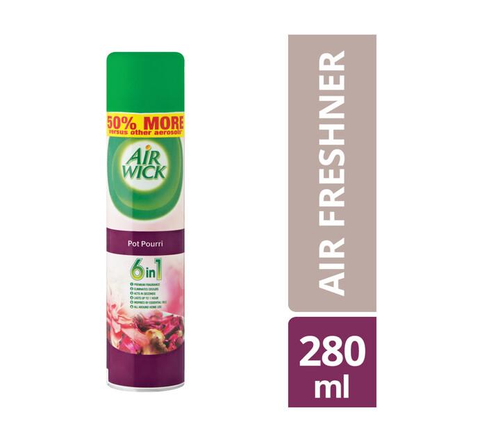 Airwick Air Freshner Pot Pourri (6 x 280ml)