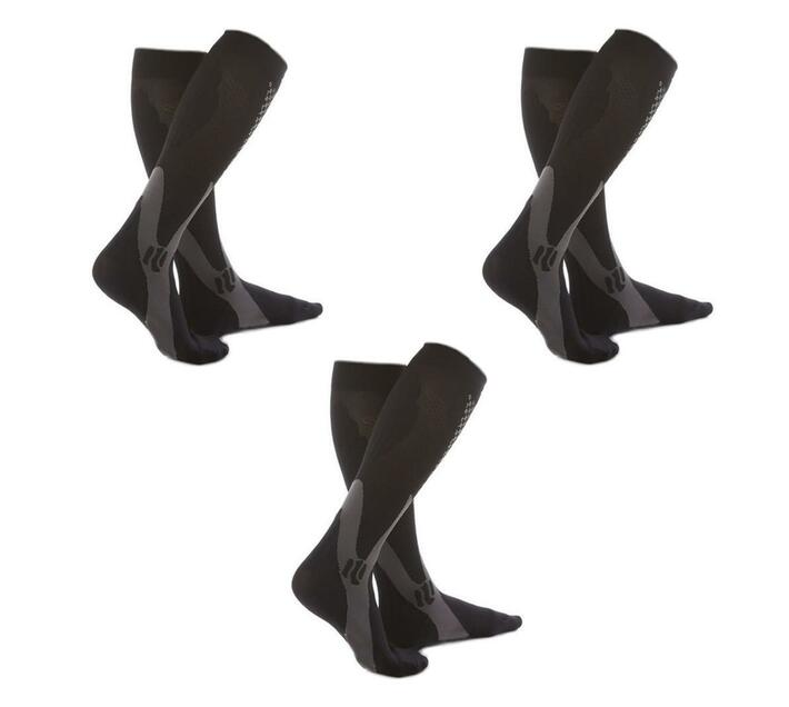 3 x T4U Compression Socks - Size 5-8