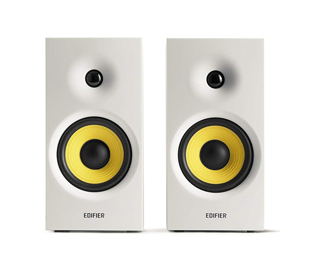 Edifier - R1080BT-WHI Active Bookshelf / Multimedia Speaker - Bluetooth