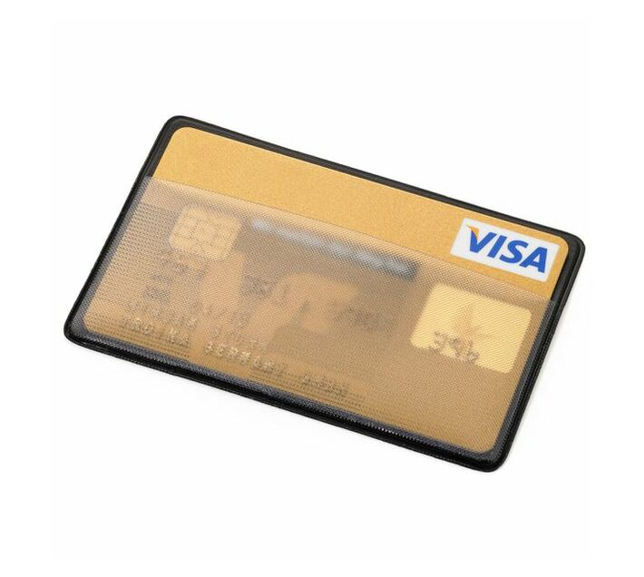 Troika Card Sleeve with RFID Fraud Protection CARD SAVER for 1 Card