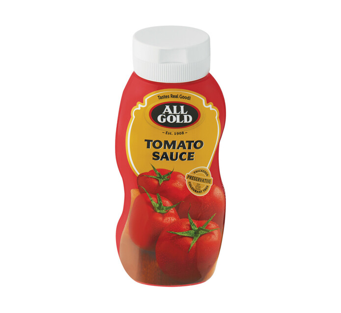All Gold Tomato Sauce Squeeze Bottle Pet (1  x 500ml)