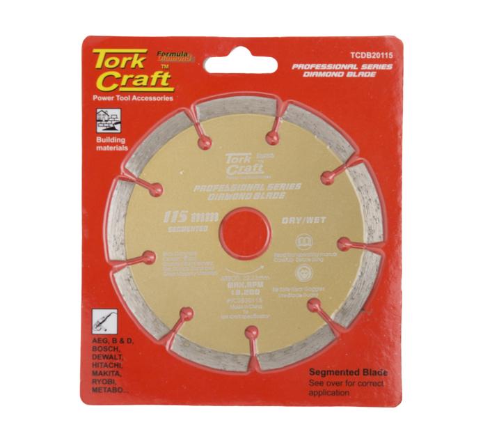 Tork Craft 115MM Diamond Cutting Disc