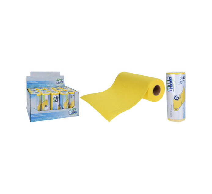 Excellent Houseware 20 piece Cleaning Clothes Roll