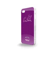 Whatever It Takes Tough Shield iPhone 4/4S Cover (Donna Karan Purple)