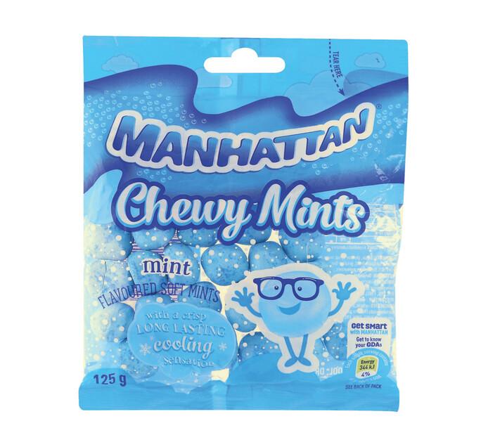 MANHATTAN CHEWY SOFT MINTS 125G, MINT