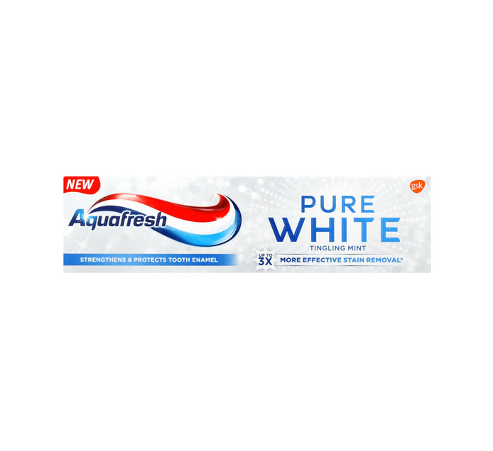 AQUAFRESH Pure White Toothpaste Tingling (1 x 75ml)
