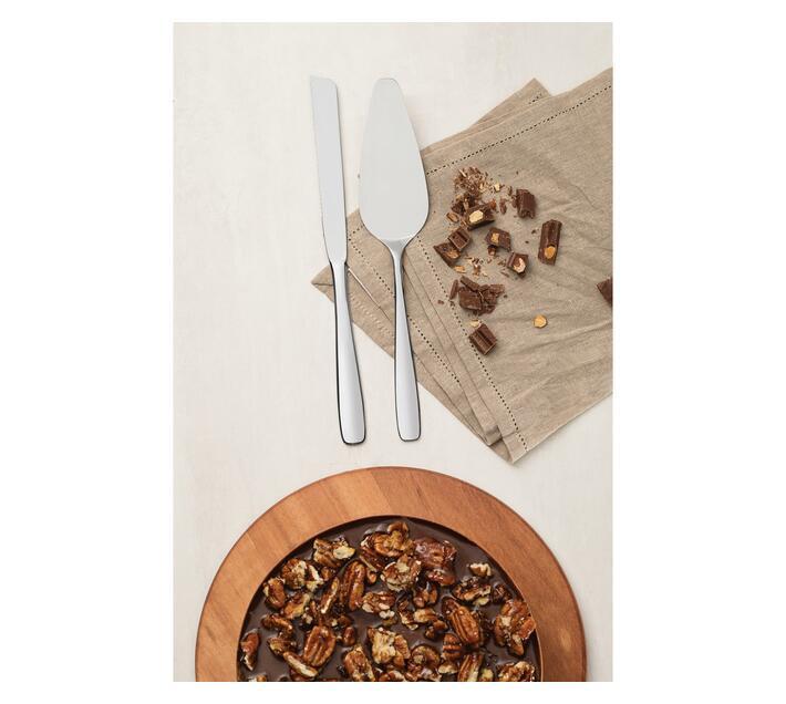 2pc Cake Set - Stainless Steel, Essentials Range, Dishwasher Safe