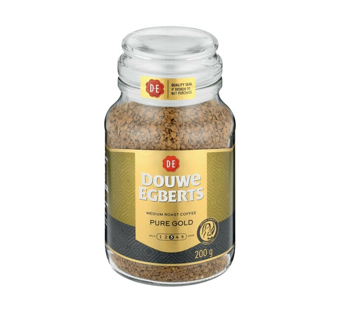 Douwe Egberts Instant Coffee Pure Gold (1 x 200g)