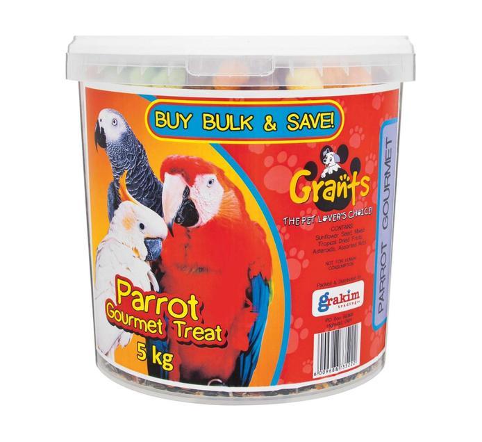 Grants Gourmet Bucket Parrot (1 x 5kg)