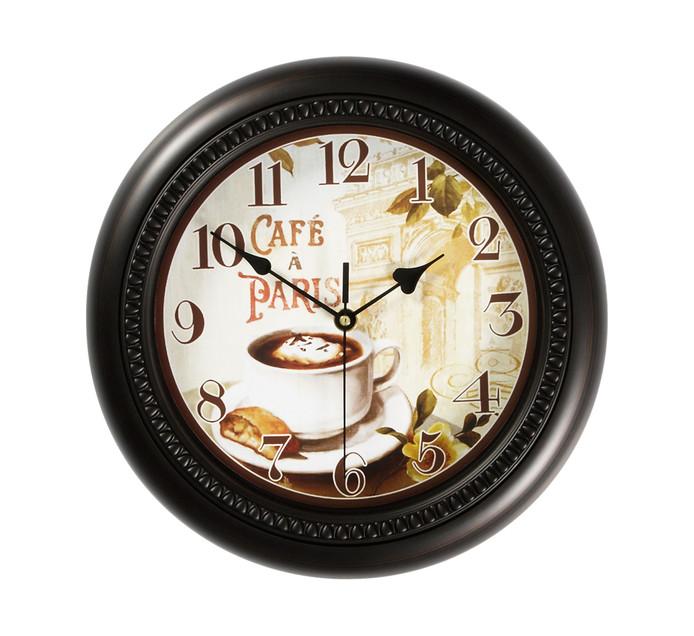 Century 30cm Wall Clock Cafe Paris