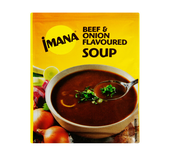Imana Packet Soup Beef and Onion (1 x 60g)