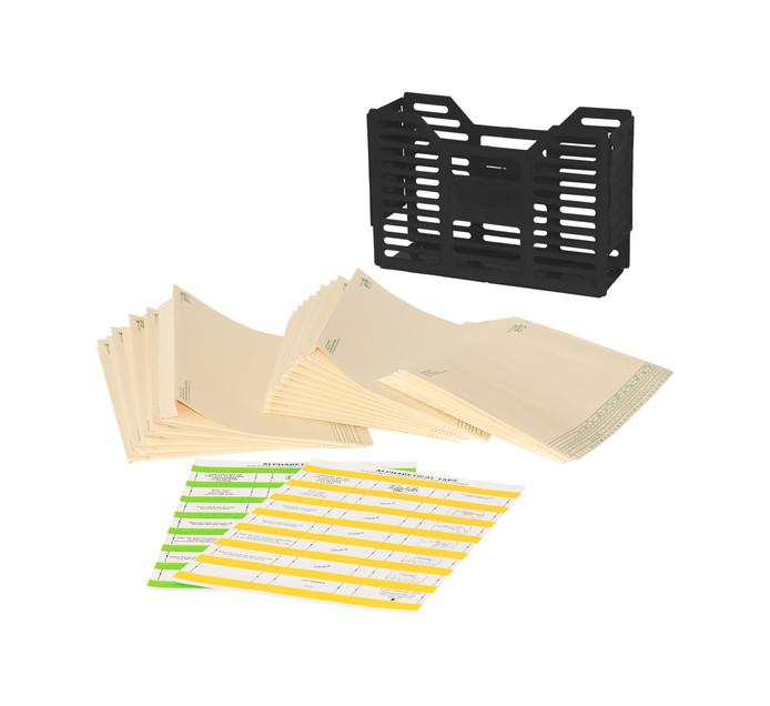 Tidy Files Filing Starter Pack Black