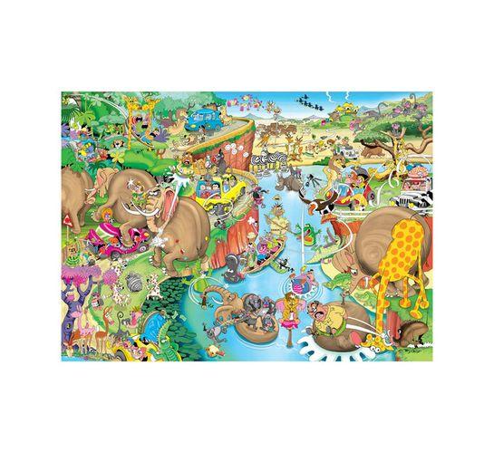 1500-piece African Safari Puzzle