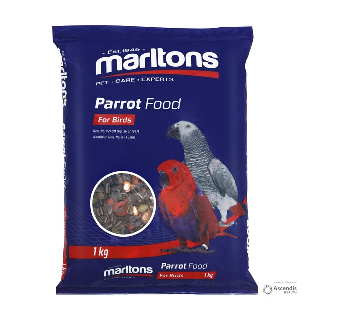 MARLTONS PARROT FOOD 1KG