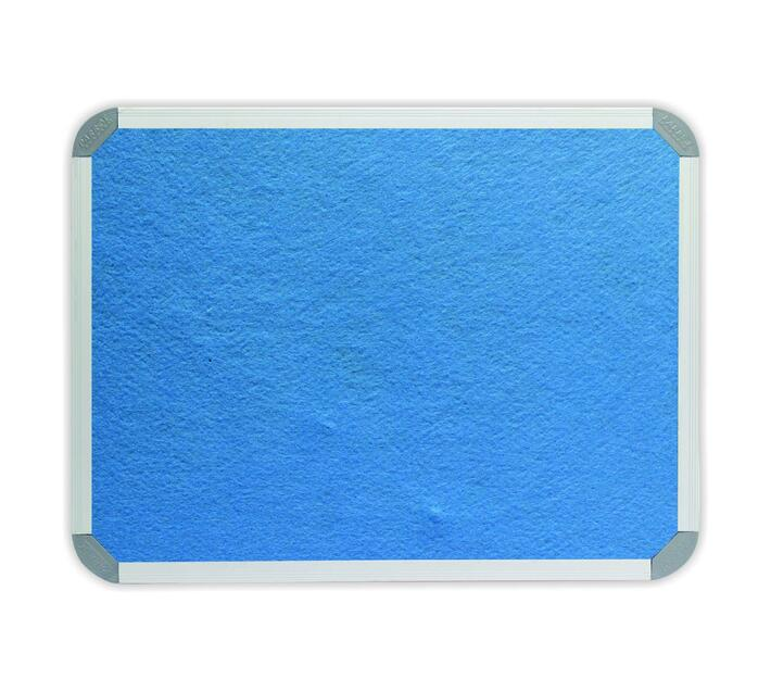 PARROT PRODUCTS Info Board (Aluminium Frame, 900*900mm, Sky Blue)