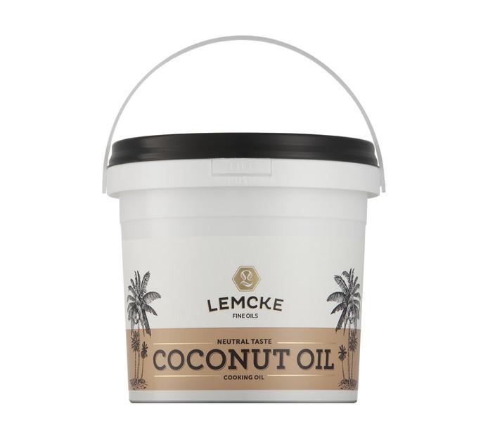 LEMCKE Coconut Oil (1 x 1lt)