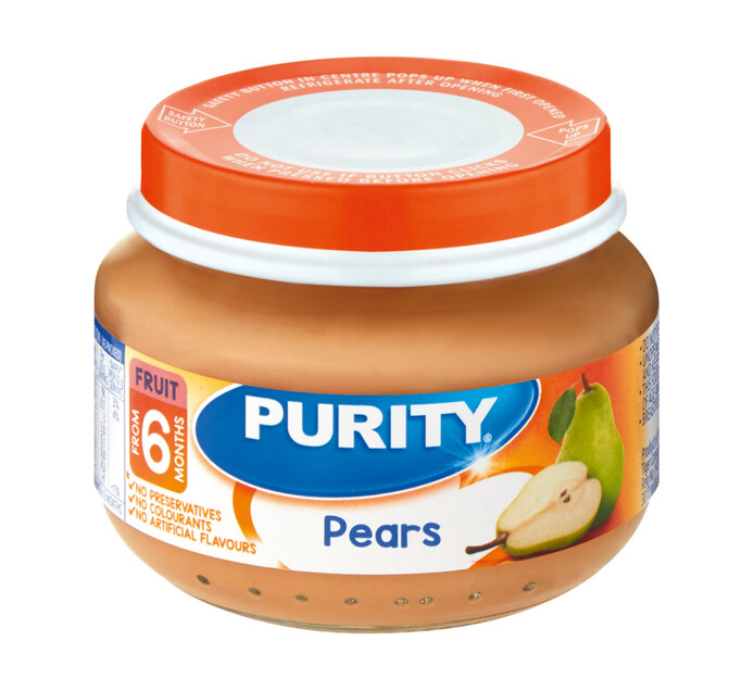 Purity 1st Foods Pears (6 x 80ml)