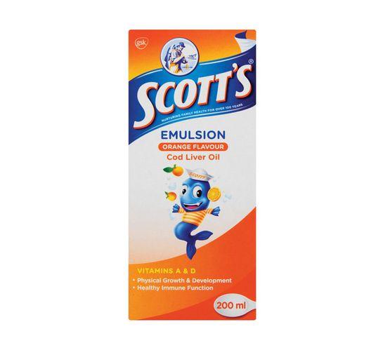 Scotts Emulsion Orange (1 x 200ml)