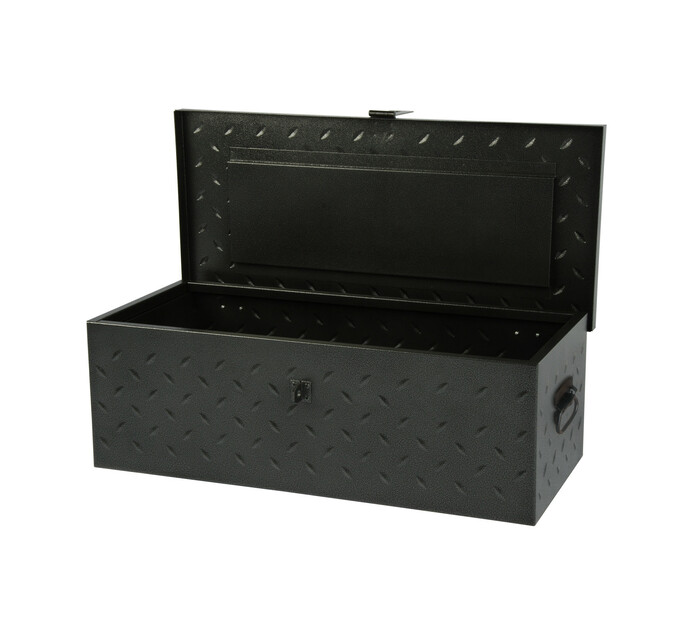 Armour 777mmx360mmx257mm Armour Metal Trunk
