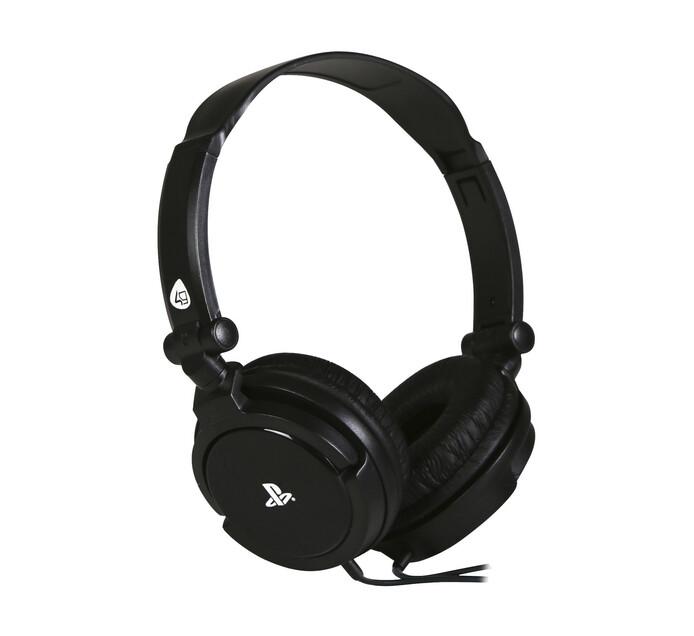 4gamers PRO4-10 Gaming Headset Black