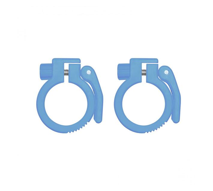 Rebel Bear Grip Olympic Bar Collar - Blue