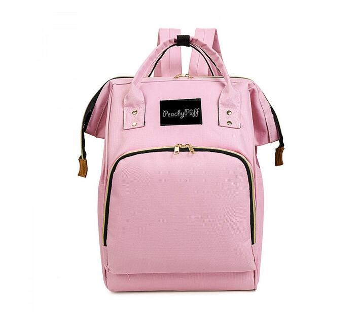 Peachy Puff -Baby Utility BackPack - Pink
