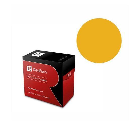 Redfern Self-Adhesive Colour Codes - C32 Flu Orange
