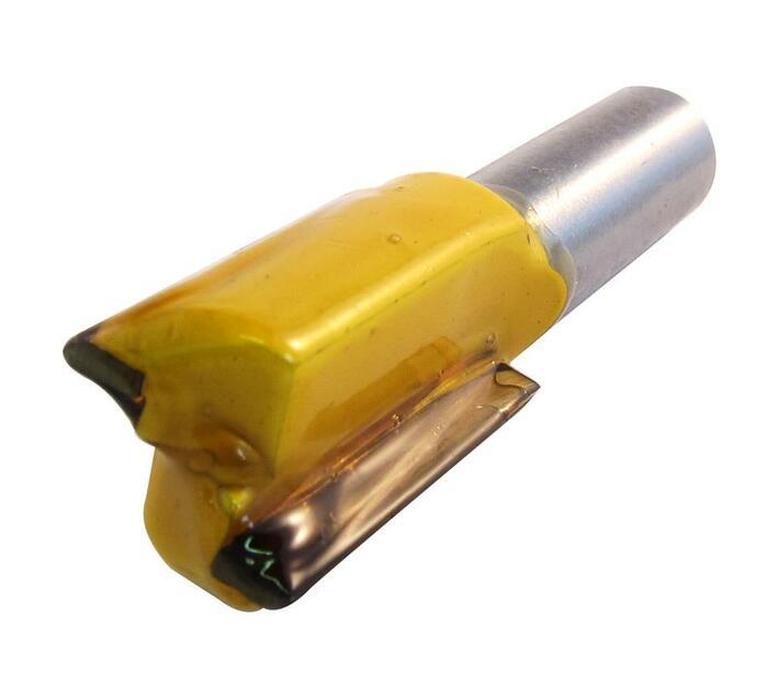Straight Bit 19mm X 32mm Cut 2 Flute Metric 1/2 Shank