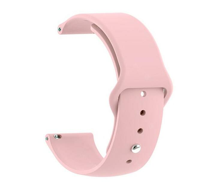 Zonabel Fitbit Versa Silicone Strap - Pink Sand (Small)