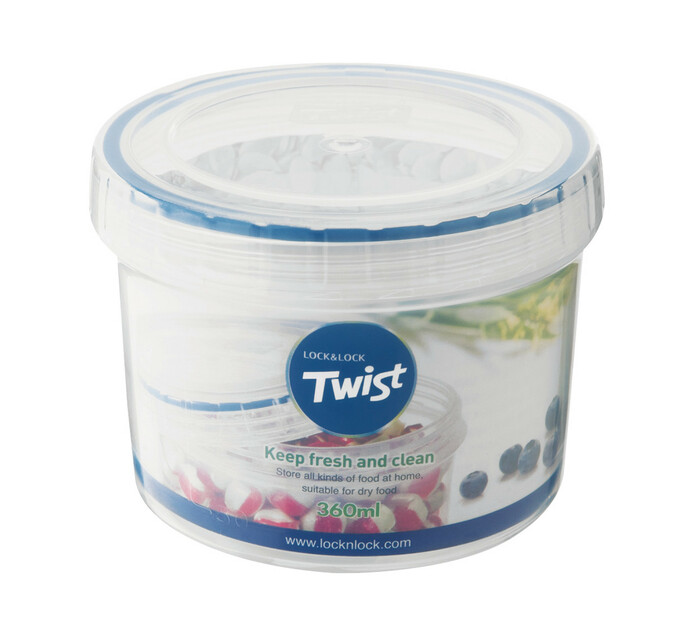 Lock & Lock 360ml Twist Container