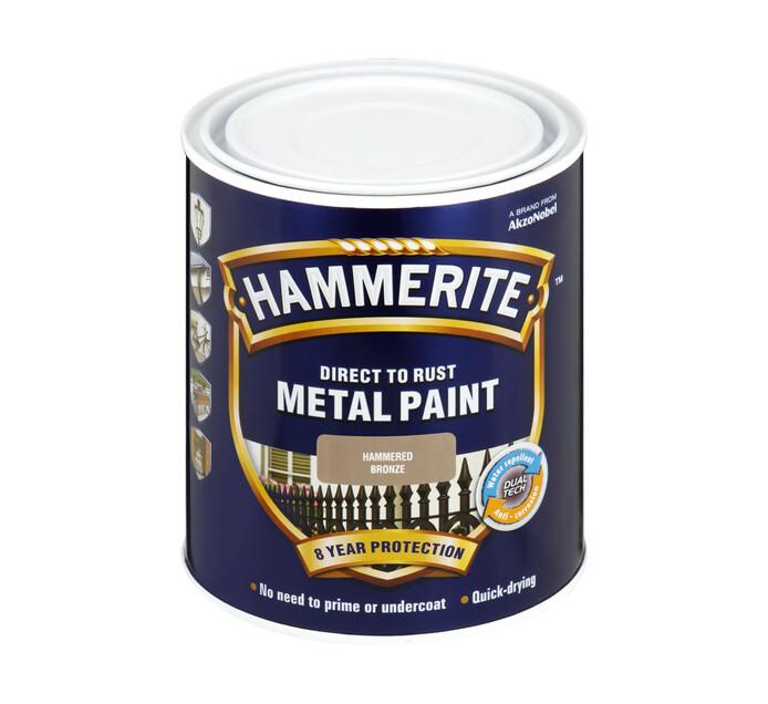 Hammerite 500ml Metal Paint Bronze