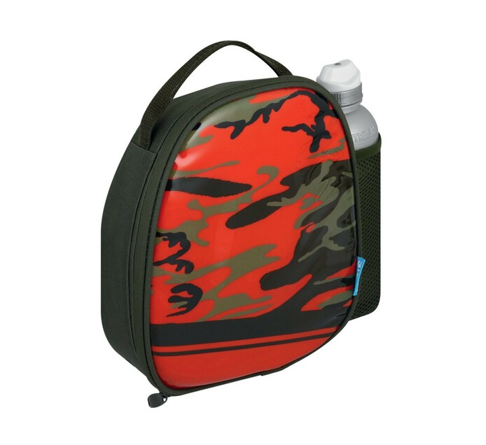Goldenmarc 500 ml Smash Camo Lunch Bag with Bottle
