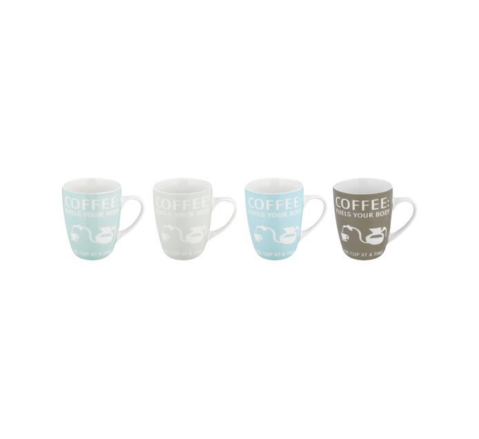 Basic White Basic White Pastel Coffee Shop Coffee Mug