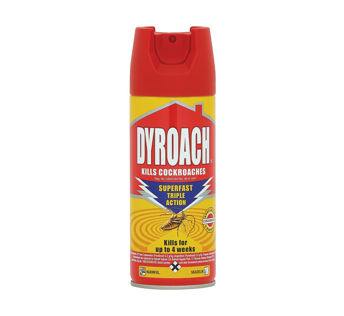 Dyroach Insect Spray CockRoaches (1 x 300 ml)